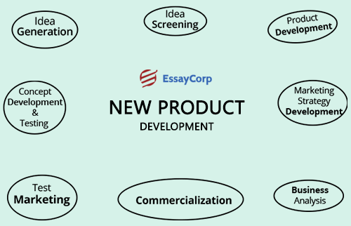 essay on new product development Executive summary (student sample 1)  the surf industry is fairly new and has great potential for growth  which will ensure successful product development.