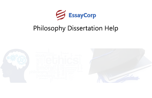 Dissertation phd philosophy