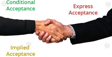 acceptance of contract law