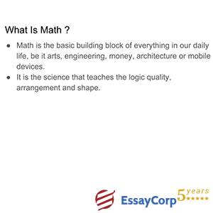 what is math?