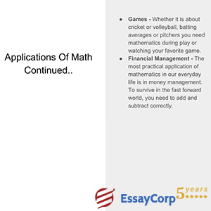 math applications