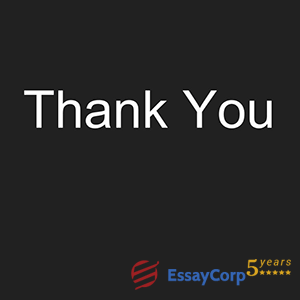 Thank You EssayCorp