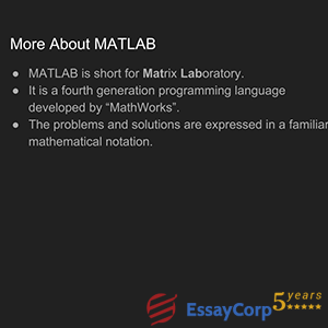 more about matlab