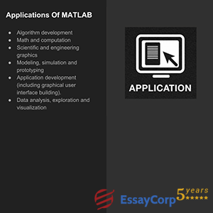 applications of matlab