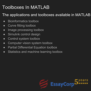 toolboxes in matlab