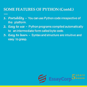 python's features