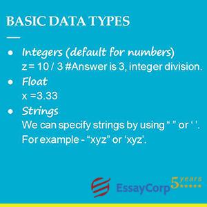 basic data types in python