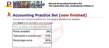 perdisco practice set-11 result card