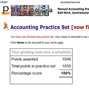 perdisco accounting practice set answers